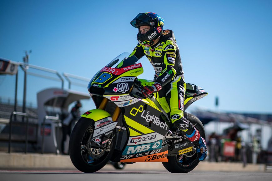 STUNNING SECOND PLACE IN SECOND ARAGÓN RACE FOR DIGGIA. P5 FOR NAVARRO
